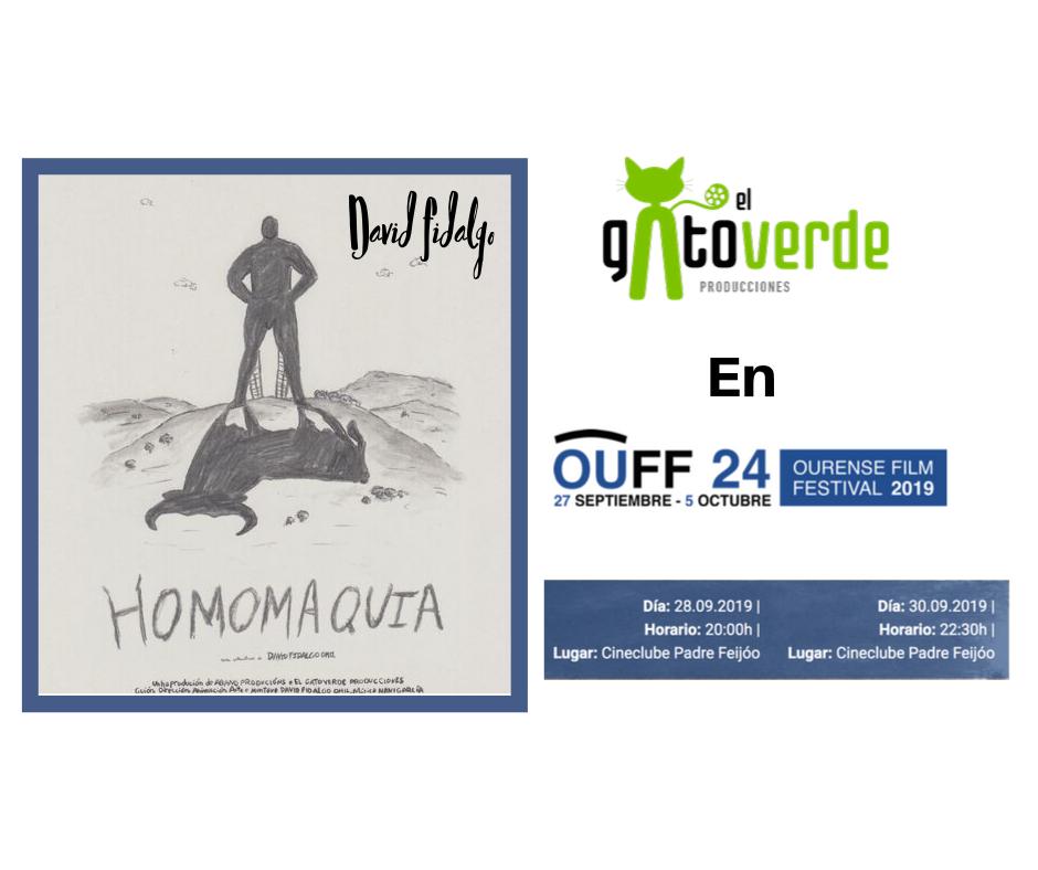 Cartel OUFF Homomaquia