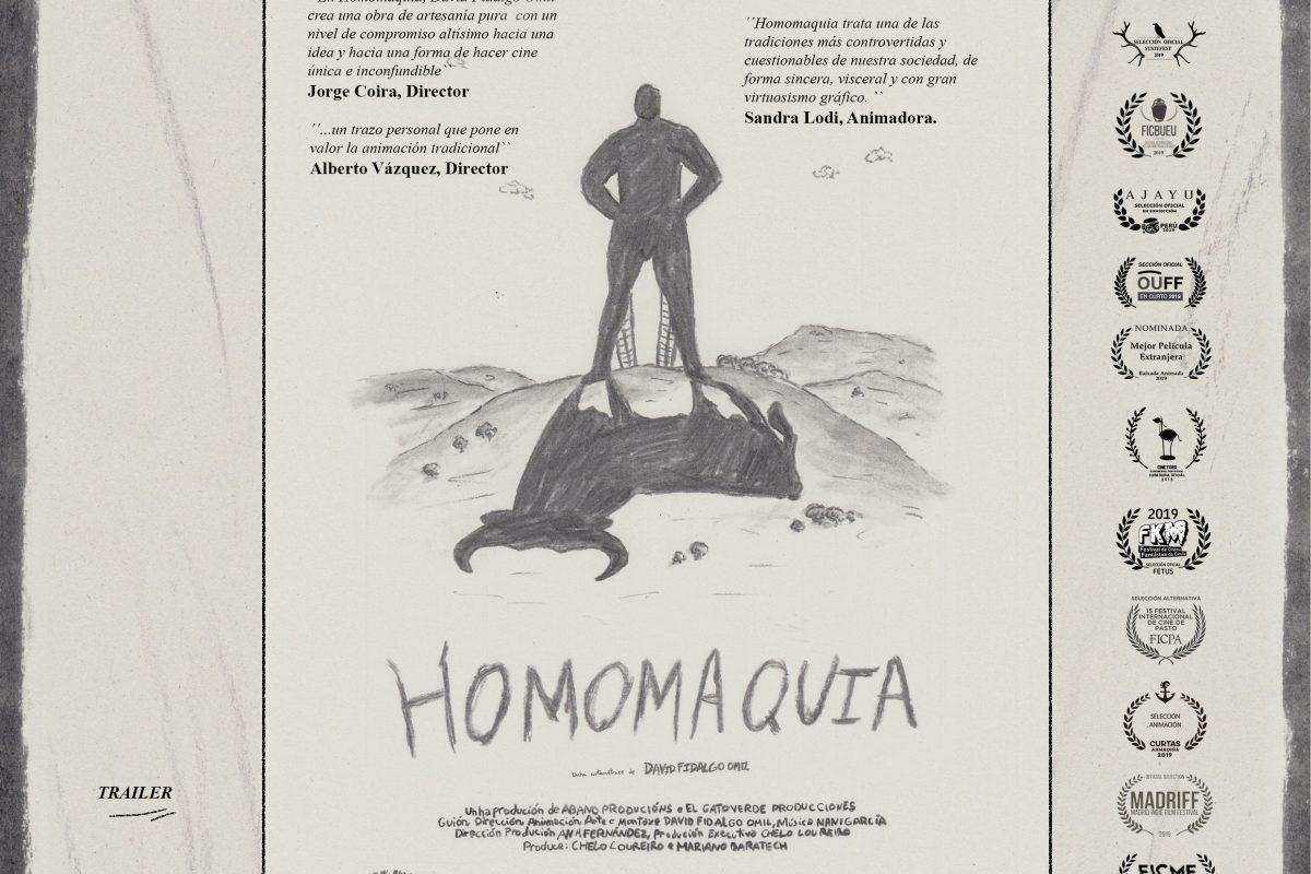 Invitación para visualizar Homoaquia en la Academia de cine , y después a los PREMIOS GOYA 2020