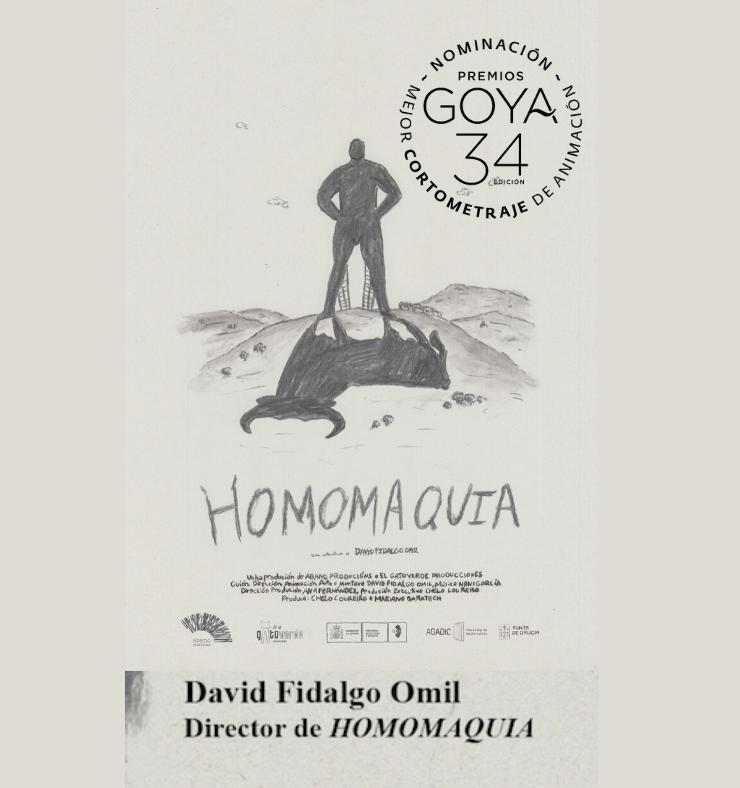 Homomaquia, cartel de la nominación a los premios Goya 2020