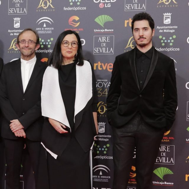 Chelo Loureiro , David Fidalgo Omil y Mariano Baratech
