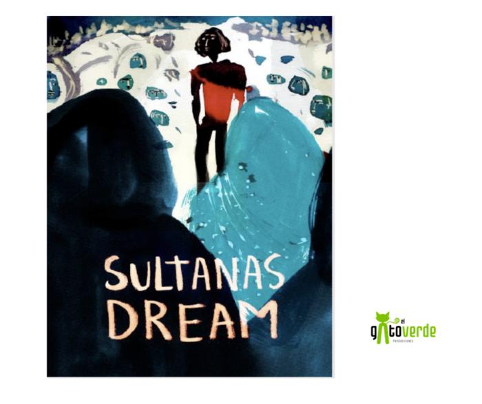 Portada de largometraje de animación Sultana Dreams