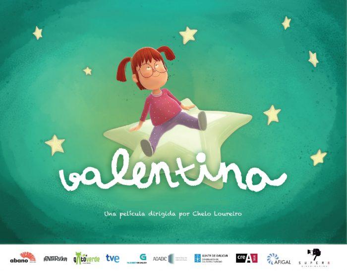 portada de largometraje infantil Valentina