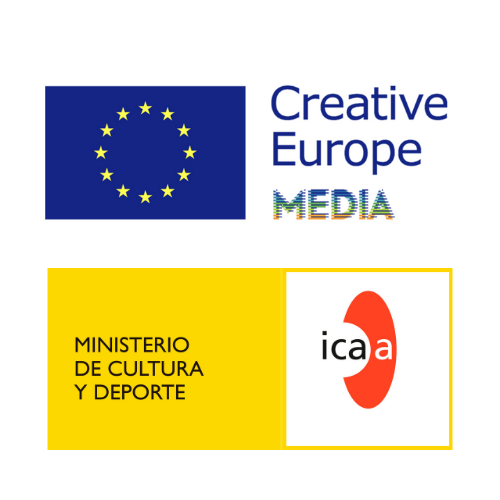 Logotipos de ICAA y Cretive Media Europea